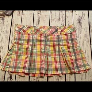 Abercrombie vintage plaid school girl mini skirt 8